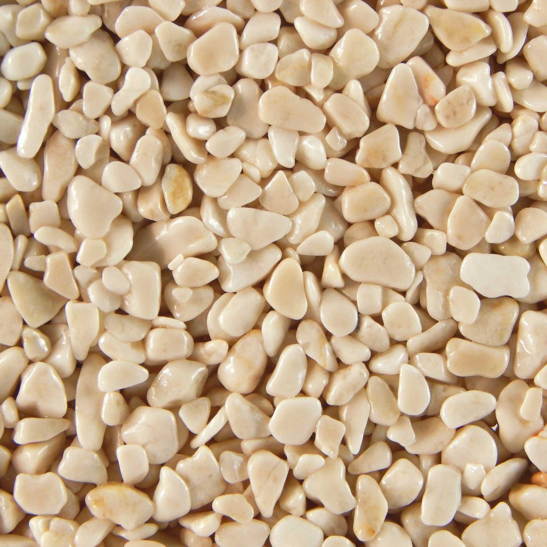 Terralith Marmor - Steinteppich crema für 1 qm - innen -