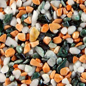 Terralith Marmor - Steinteppich mix bologne für 1 qm - außen -