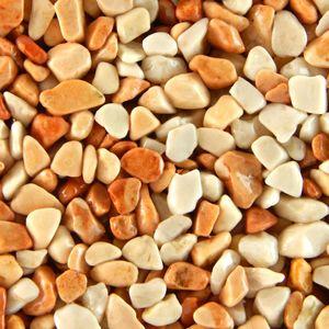 Terralith Marmor - Steinteppich terracotta due für 1 qm - außen -