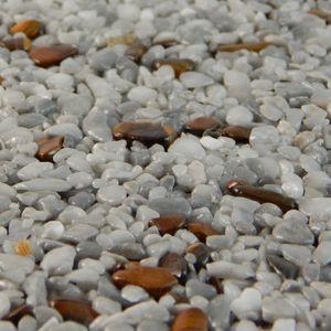 Terralith Edelsteinteppich Mix Tigerauge / Grau 1 qm -innen- – Bild 3