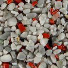 Terralith Edelsteinteppich Mix Jaspis / grau 1 qm -außen- 001