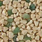 Terralith Edelsteinteppich WAND Mix Aventurin / beige für 1 qm 001