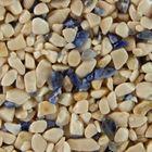 Terralith Edelsteinteppich WAND Mix Sodalith / beige für 1 qm 001