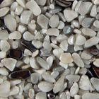 Terralith Edelsteinteppich WAND Mix Hämatit / grau für 1 qm 001