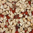 Terralith Edelsteinteppich Farbmuster -Jaspis / beige- 001