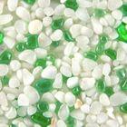 Terralith Glasteppich Bianco / Jade für 1 qm -außen- 001