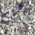 Terralith Edelsteinteppich Mix Amethyst / Grau 1 qm -innen- 001