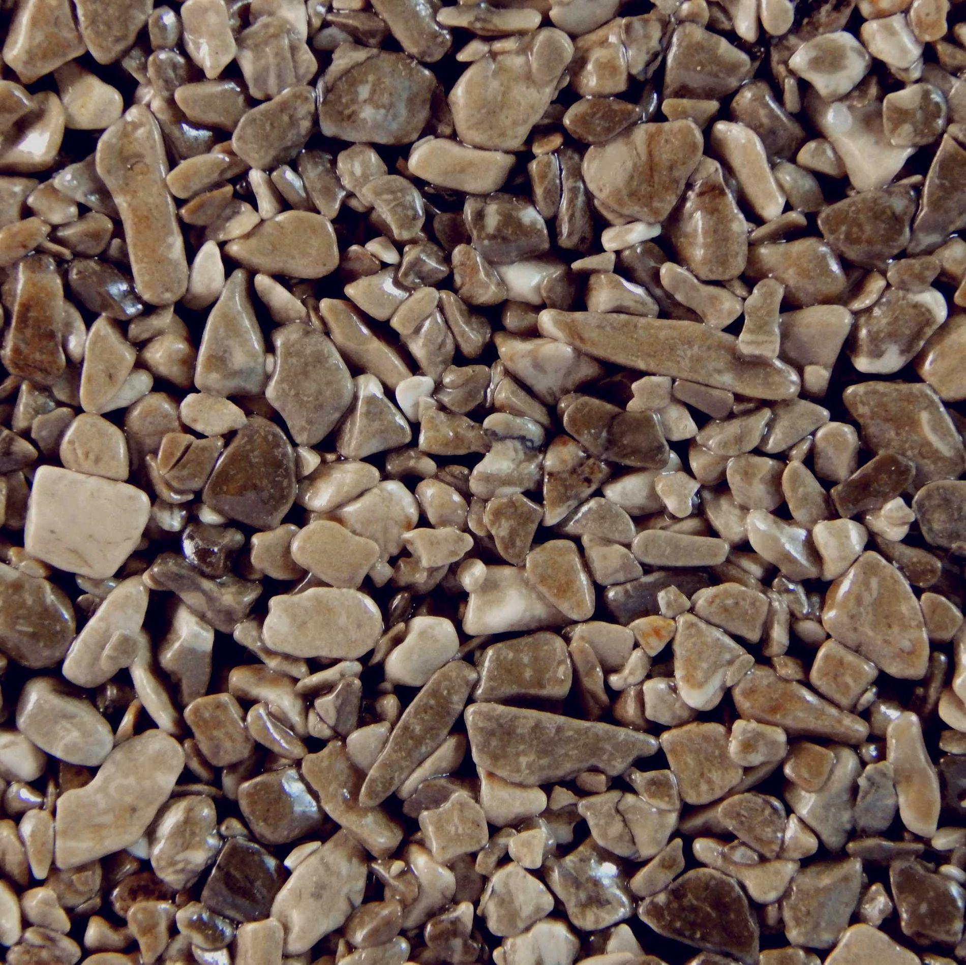 Terralith Marmor - Steinteppich WAND marrone für 1 qm