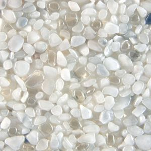 Terralith Glasteppich WAND -Bianco/Transparent- für 1 qm – Bild 1
