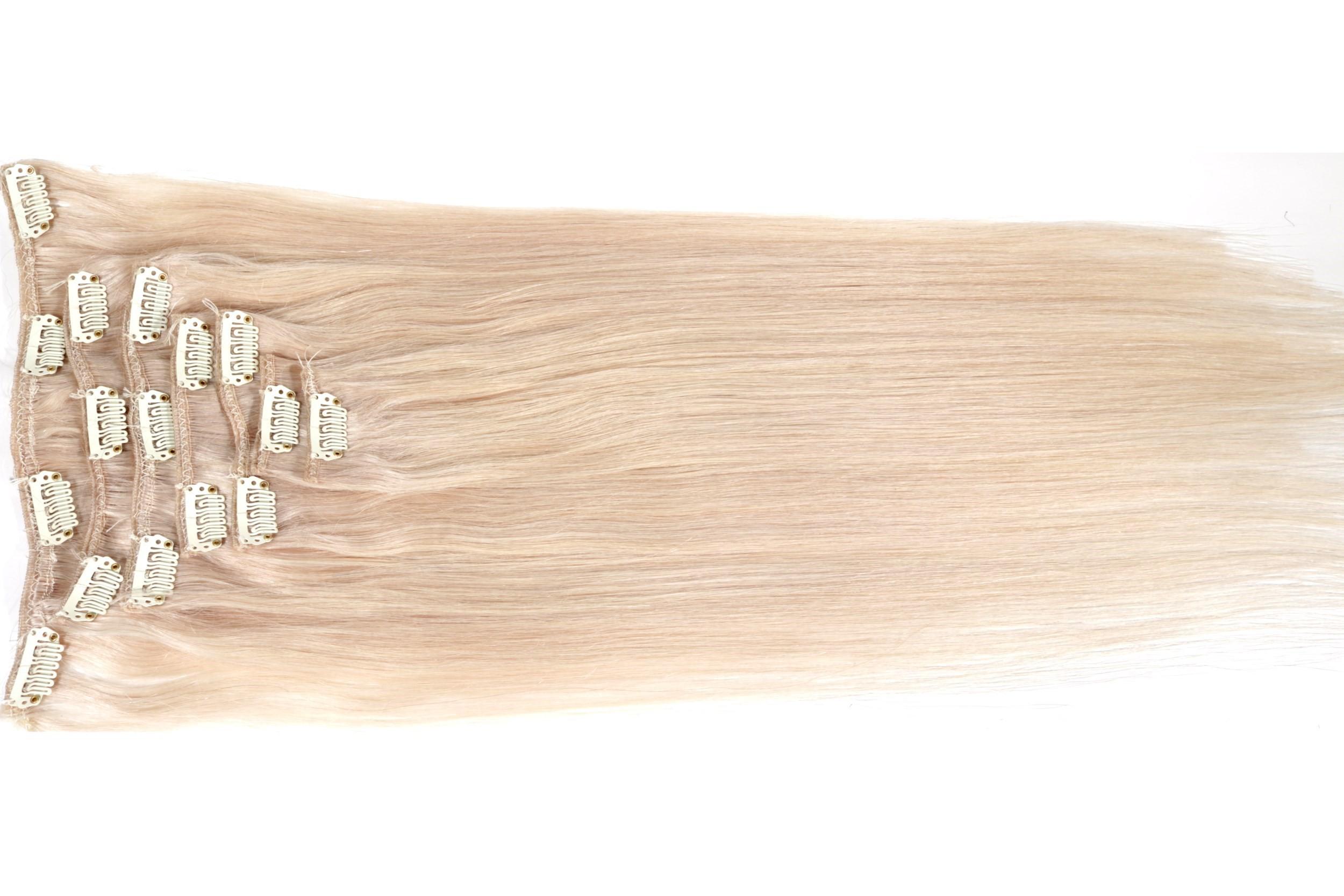 Clip in extensions echthaar 50 cm