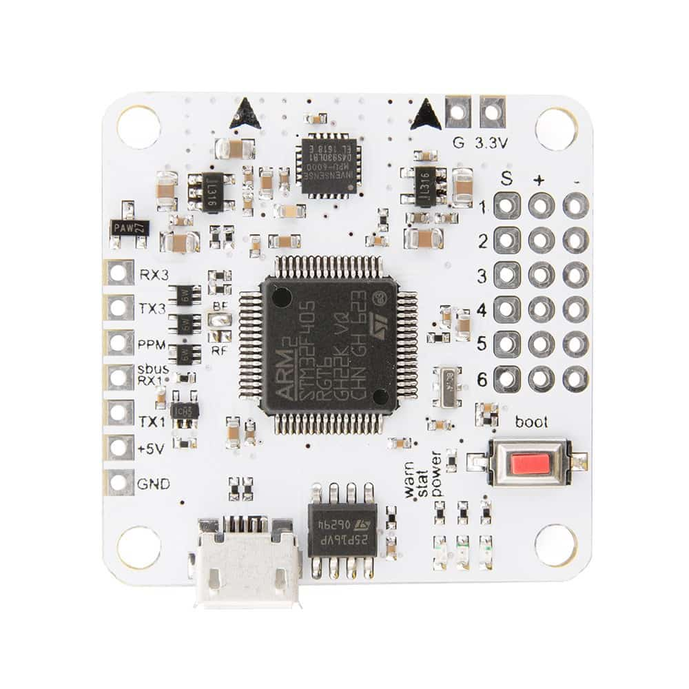 F4 Advanced Flight Controller - (MPU6000, STM32F405) – Bild 1