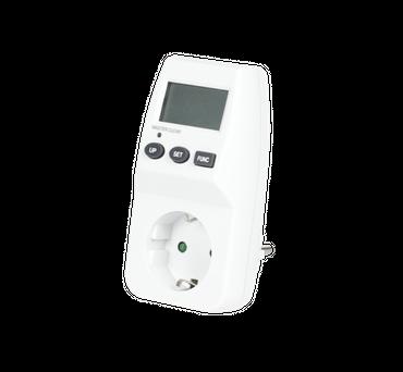energy meter, CEE 7/7 plug
