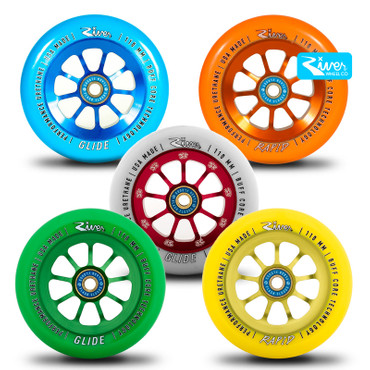 River Wheels Stunt Scooter Rolle 110mm – Bild 1