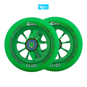 River Wheels Stunt Scooter Rolle 110mm – Bild 5