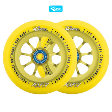 River Wheels Stunt Scooter Rolle 110mm – Bild 6