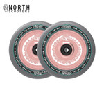 North Vacant 110mm 24mm Stunt Scooter Wheels rose gold