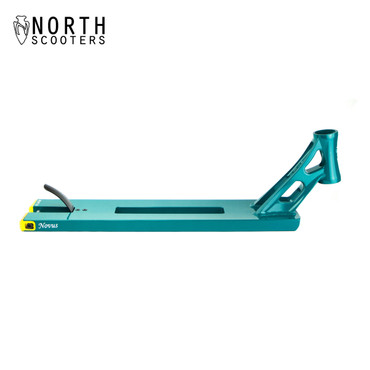 "North Atlas 5.5"" Novus Stunt Scooter Deck 22"" emerald"