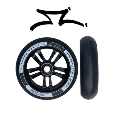 AO Hulk Stunt Scooter Wheel 28mm x 110mm black