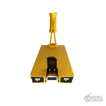 Nitro Circus RW Ryan Williams Signature Deck gold – Bild 7