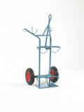 NIES Modellserie F5 Flaschenwagen mit Kranaufhängung für 1 x 50 l und 1 x 33 kg 001