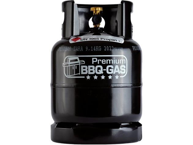 Propangas in 8-KG-BBQ Flasche