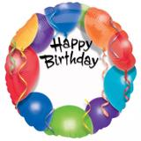 ANAGRAM Folienballon 18 Birthday persönl. 001