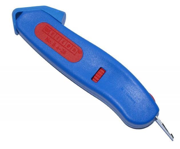 WEICON Kabelmesser S 4-28 Voltage blau / rot, Blister