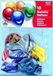 RIETHMÜLLER Ballons Metallic 10 Stück