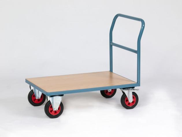 NIES Modell P2 Plattformwagen mit Rohrschiebegriff