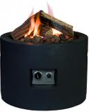 HAPPY COCOONING Feuertisch Tondo Gartenkamin mit Gas 001