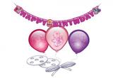 RIETHMÜLLER Ballon Deko Set Happy Birthday 001
