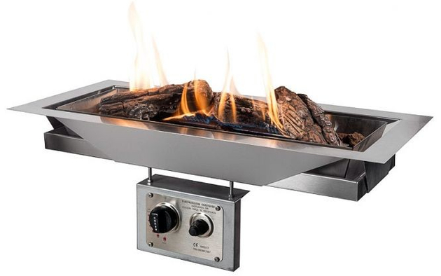 HAPPY COCOONING Feuertisch Pezzo L Gartenfeuer mit Gas