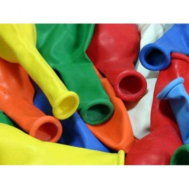 RIETHMÜLLER Ballons Runde 50 Stück - bunt