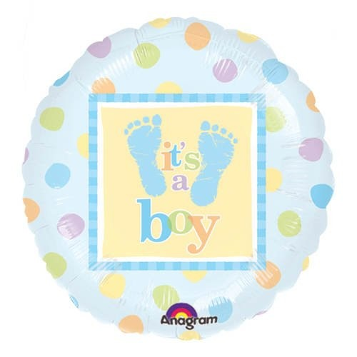 AMAGRAM Folienballon 18 Baby Girl/Boy  Sleeping