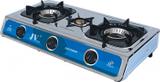 CAGO JV 04 Gaskocher 3-flammig aus Edelstahl 10,0 kW 001