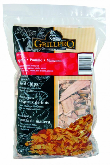 GRILLPRO Wood Chips 900g Beutel Apfel