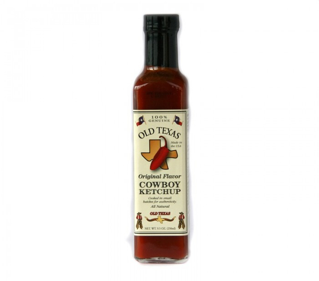 ALL-AUSTRALIAN Grill Sauce Old Texas BBQ  Cowboy Ketchup 250 ml