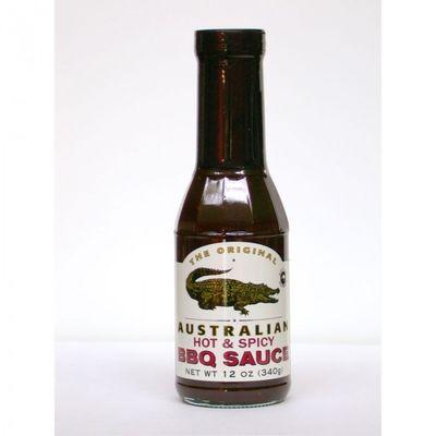 ALL-AUSTRALIAN BBQ Sauce Hot + Spicy 355 ml