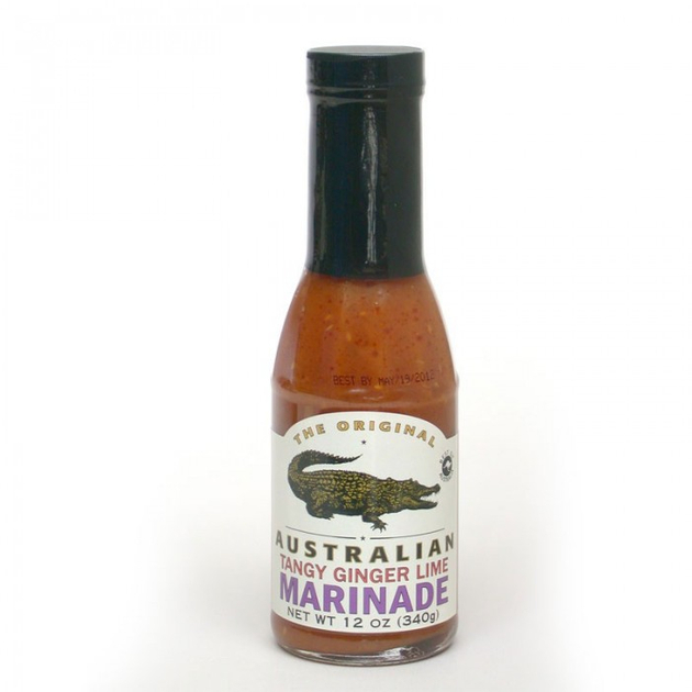 ALL-AUSTRALIAN Grill Sauce Australia Tangy Ginger Lime 355 ml