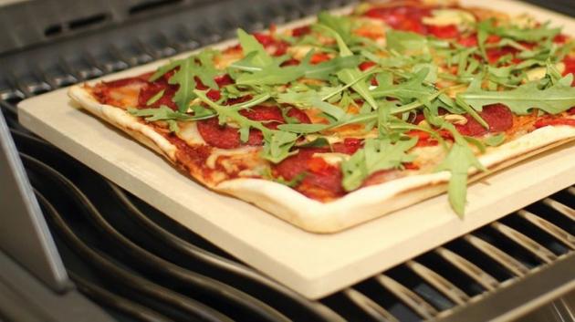 CAGO Premium Pizzastein rechteckig