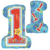 One-derful-Birthday Boy Folienballon  001