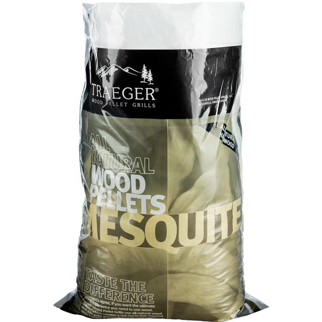 TRAEGER Hartholz Pellets Mesquite 9 kg