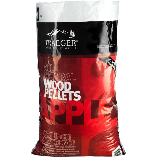 Traeger Hartholz Pellets Apfel 9 kg