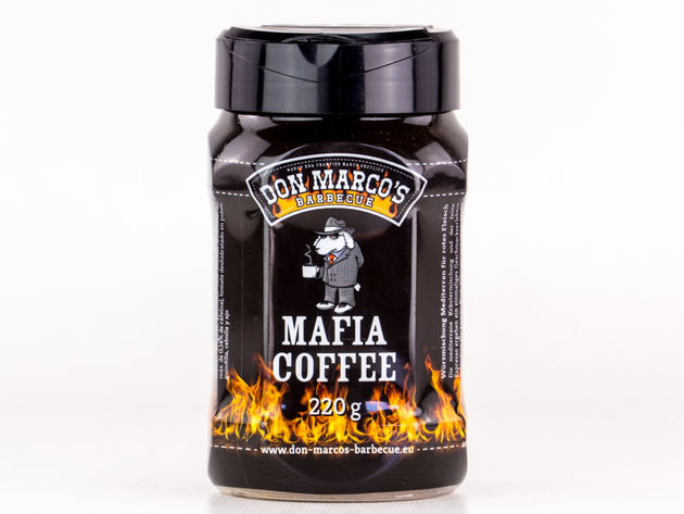DON MARCOS Mafia Coffee Rub in 220g Dose