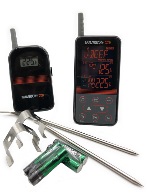 Maverick Wireless Barbecue Thermometer und Funk XR-40