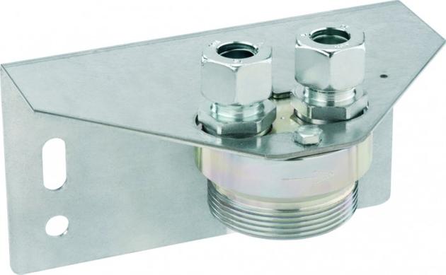 Halteplatte für Einrohr Gaszähler G4