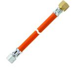 Adapter für US Gasgrills 1/4 lks x 5/8 rechts - 1 mtr. 001