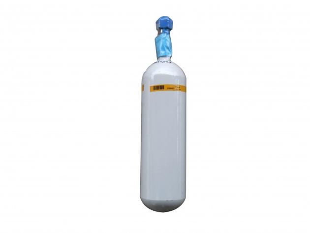 Sauerstoff med. Stahlflasche 2 ltr. gefüllt - UN 1072