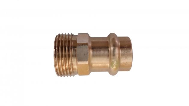 GOK Pressverbinder mit Gewinde-innenkonus G3/4 /  PV-R PS 1/5bar