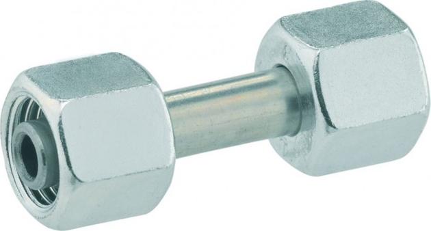 GOK Verbindungsstück  für Rohrleitungen mit Stahl-Schneidring für Stahlrohre